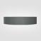 Airbelt schwarz silber (organic) -