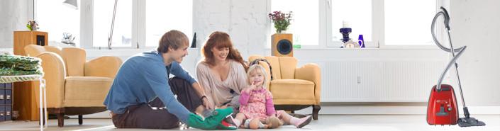 AIRBELT K - Compact, lightweight and powerful – making light work of housework.